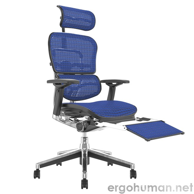 Ergohuman Plus Office Chair with Leg Rest